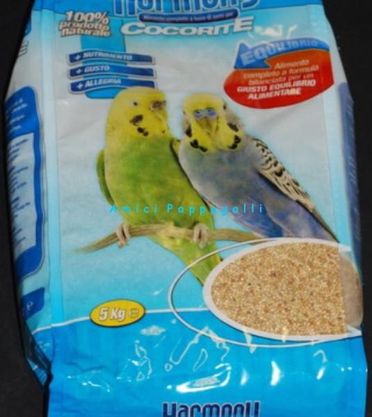 Miscela per cocoriti mangime per cocorite da 25 kg - Vitamine per cocorite ...