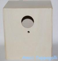 Il nido in legno per ondulati e cocorite maggiorate nidi - Vitamine per cocorite ...