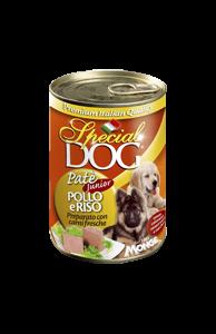 special-dog-paté-junior-pollo-e-riso-in-lattina