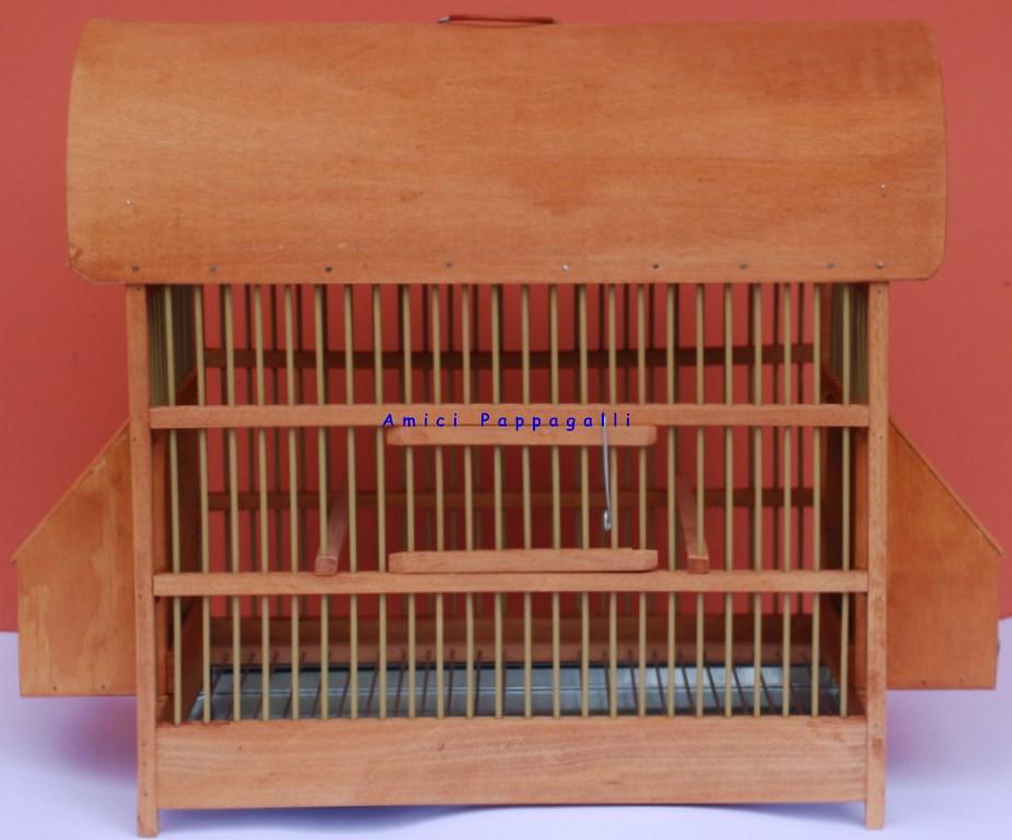 Gabbie per uccelli in legno - Gabbia in legno Merlo/Tordo grande - amici pappagalli
