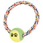 gioco-anello-con-palla-da-tennis-per-cani