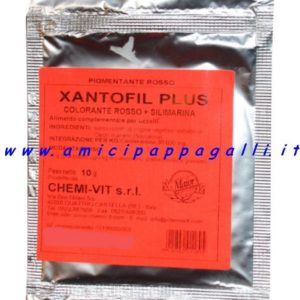 chemivit xantofil new colorante per tutti i canarini rossi