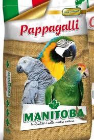 manitoba mangime per pappagalli