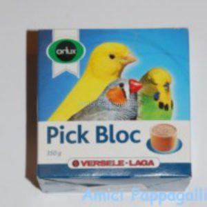 blocchi di sali minerali pick bloc versele laga per canarini, esotici, pappagalli