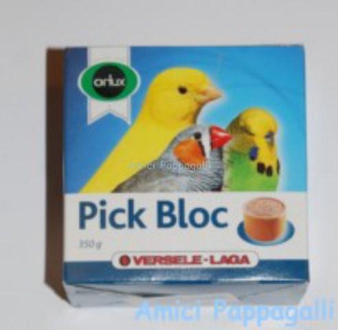 Sali minerali orlux pick bloc gr350 blocchetti di calcio - Vitamine per cocorite ...