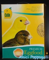 cèdè giallo per canarini, esotici, pappagallini e uccelli, pastone secco