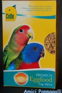 cèdè per inseparabili pastoncino secco per pappagalli e pappagallini