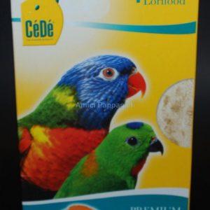 pastoncino secco per lori pappagalli cèdè
