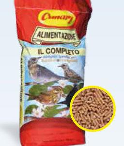 il completo mangime in pellet per uccelli insettivori