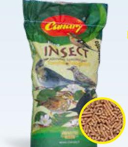 mangime pellettato plus insetti mantenimento canary