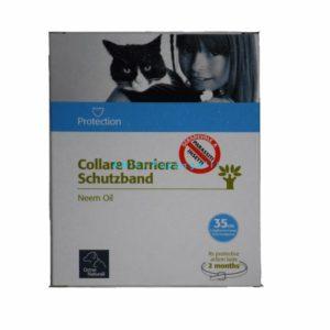 collare gatti orme naturali olio neem