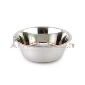 ciotola in acciaio per mangiatoie girevoli