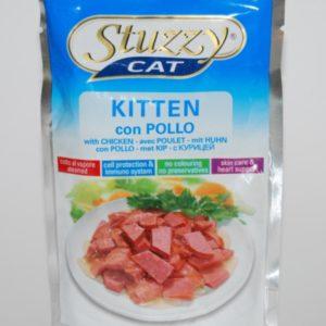 kitten alimento umido cuccioli di gatto al pollo