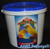 pastoncino morbido soft dolce forno per canarini e uccelli