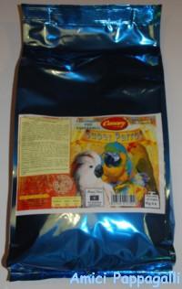 pastoncino secco per pappagalli superparrot canary