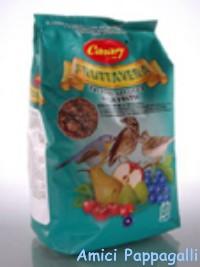 pastone fruttavera canary per uccelli insettivori merlo, tordo, cesena, allodole