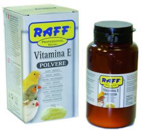 vitamina E in polvere raff professional uccelli