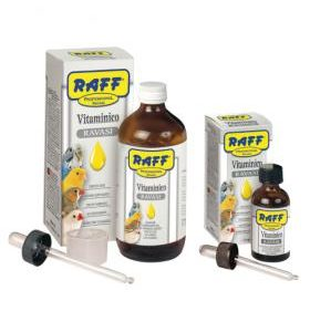 multivitaminico raff professional vitaminico uccelli