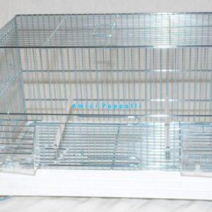 gabbia da 45 cm domus molinari per uccelli
