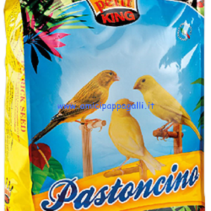 Petit king pastoncino yellow pastone giallo morbido per canarini gialli e pappagallini