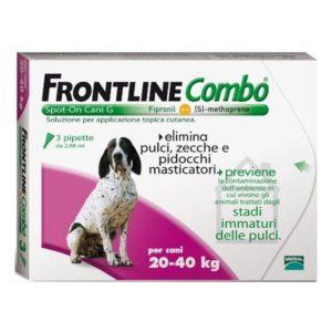 frontline combo antiparassitario per cane 20-40 kg
