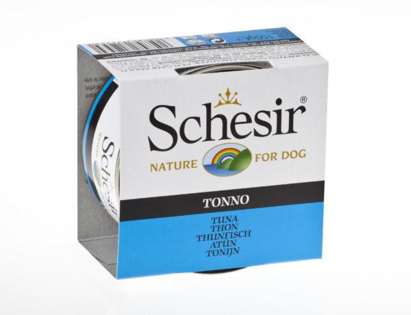 schesir dog tonno alimento umido cane