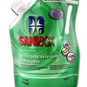 sanibox pino silvestre per la pulizia degli ambienti ove soggiornano gli animali