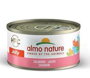 almo nature salmone HFC jelly, alimento umido gatti adulti