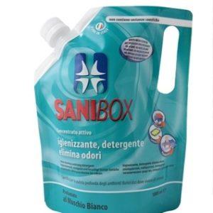 sanibox pino silvestre per pulizia e igienizzare ambiente di soggiorno degli animali