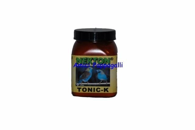 Vitamina nekton tonic k 120g complesso di vitamine con for Vitamina a per tartarughe