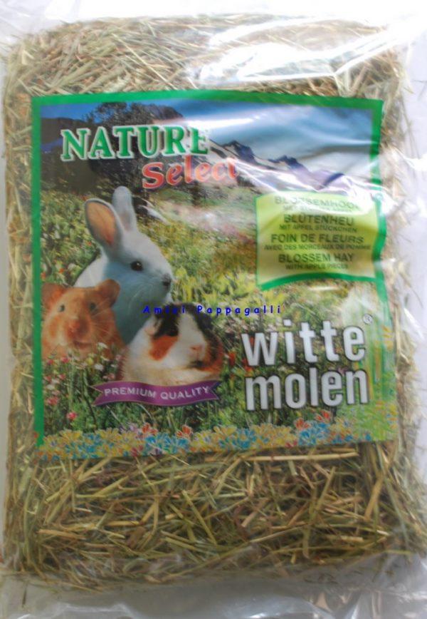 witte molen fieno mela per conigli e roditori