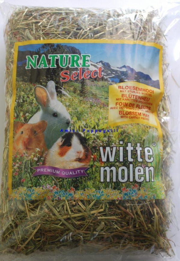 witte molen fieno carote per conigli e roditori