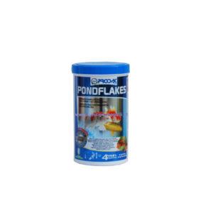 prodac pondflakes mangime per pesci rossi da laghetto e acquario, karpe koi e pesci ornamentali acqua dolce in scaglie