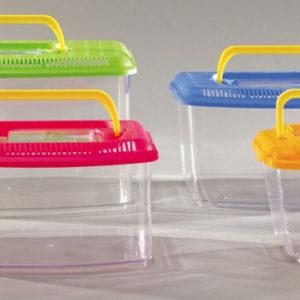 acquario in plastica per pesci rossi misura piccola domus molinari