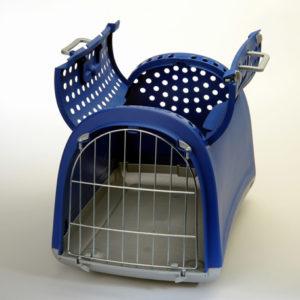 imac linus cabrio trasporto auto colore blu per cani e gatti