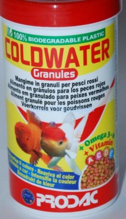 coldwater prodac mangime granulare per pesci rossi