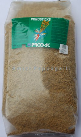 Prodac pondsticks 1250 ml mangime mangimi per pesci da for Mangime carpe koi