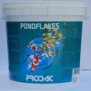 prodac pondflakes mangime in scaglie per pesci da laghetto e rossi
