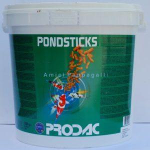 prodac pondsticks mangime in sticks per pesci da laghetto e rossi