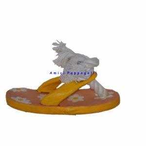 gioco per cani ciabatta colorata camon