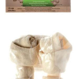 ossi pelle bufala bianco per cane tasty skin
