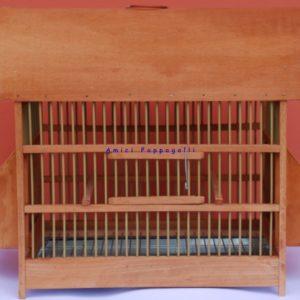 gabbia in legno per merli e tordi misura grande