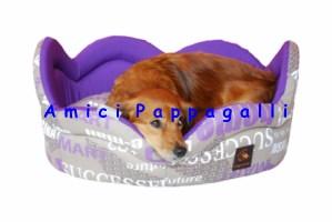 Cucce per cani in tessuto con doppio cuscino da interno for Cucce per cani in offerta
