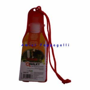 ciotola distributore per acqua 250 ml da viaggio cane e gatto camon