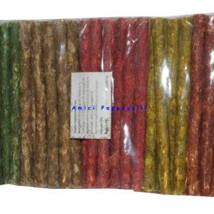 bastoncini in pelle bovina 100 pezzi per cane