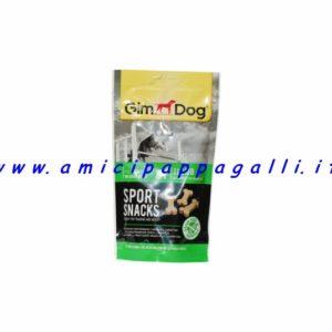 gimdog sport snacks ossicini agnello per cane