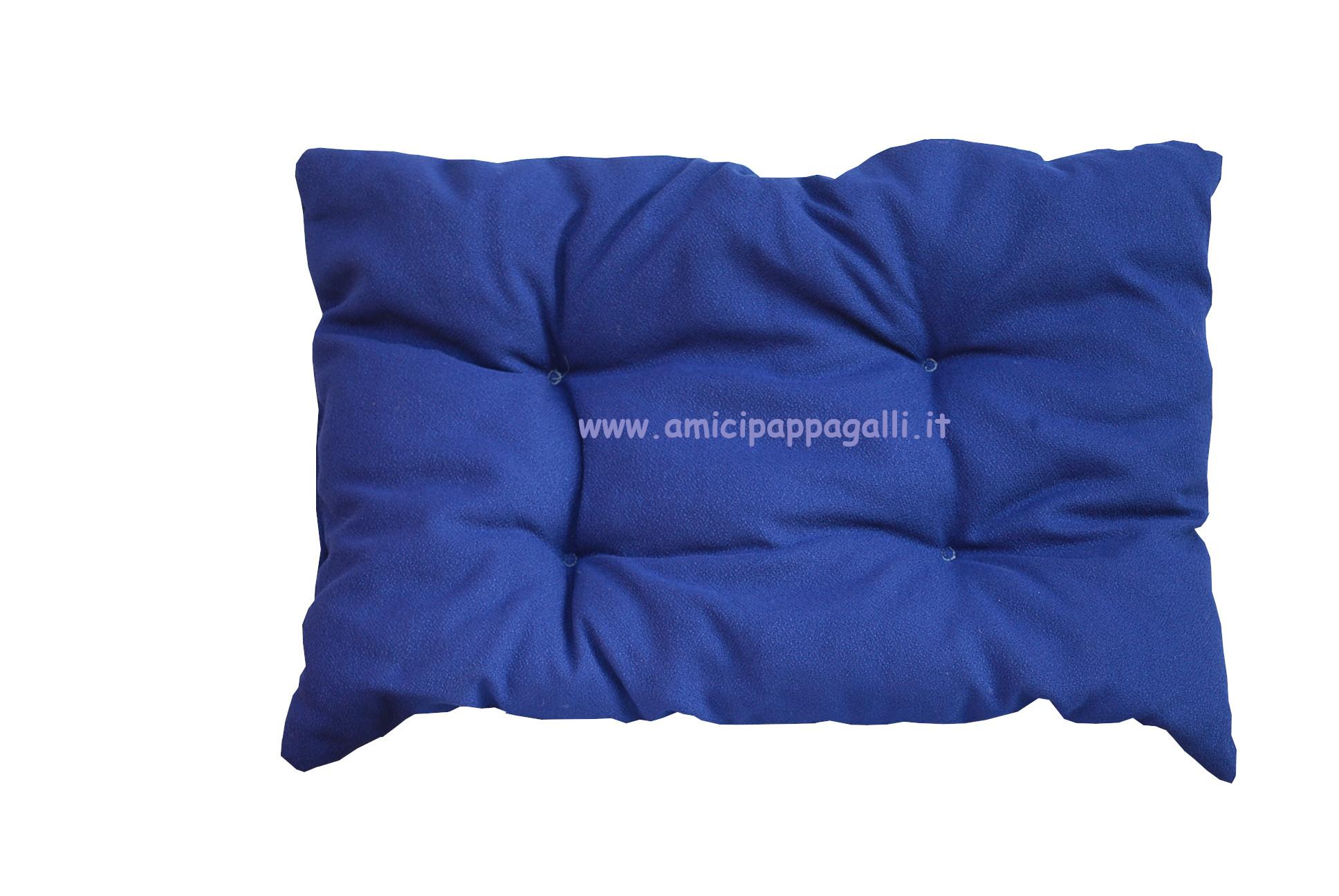 Cuscini Blu.Cuscino Rettangolare Blu Fabotex Alba Cm95x65 Imbottito Colore