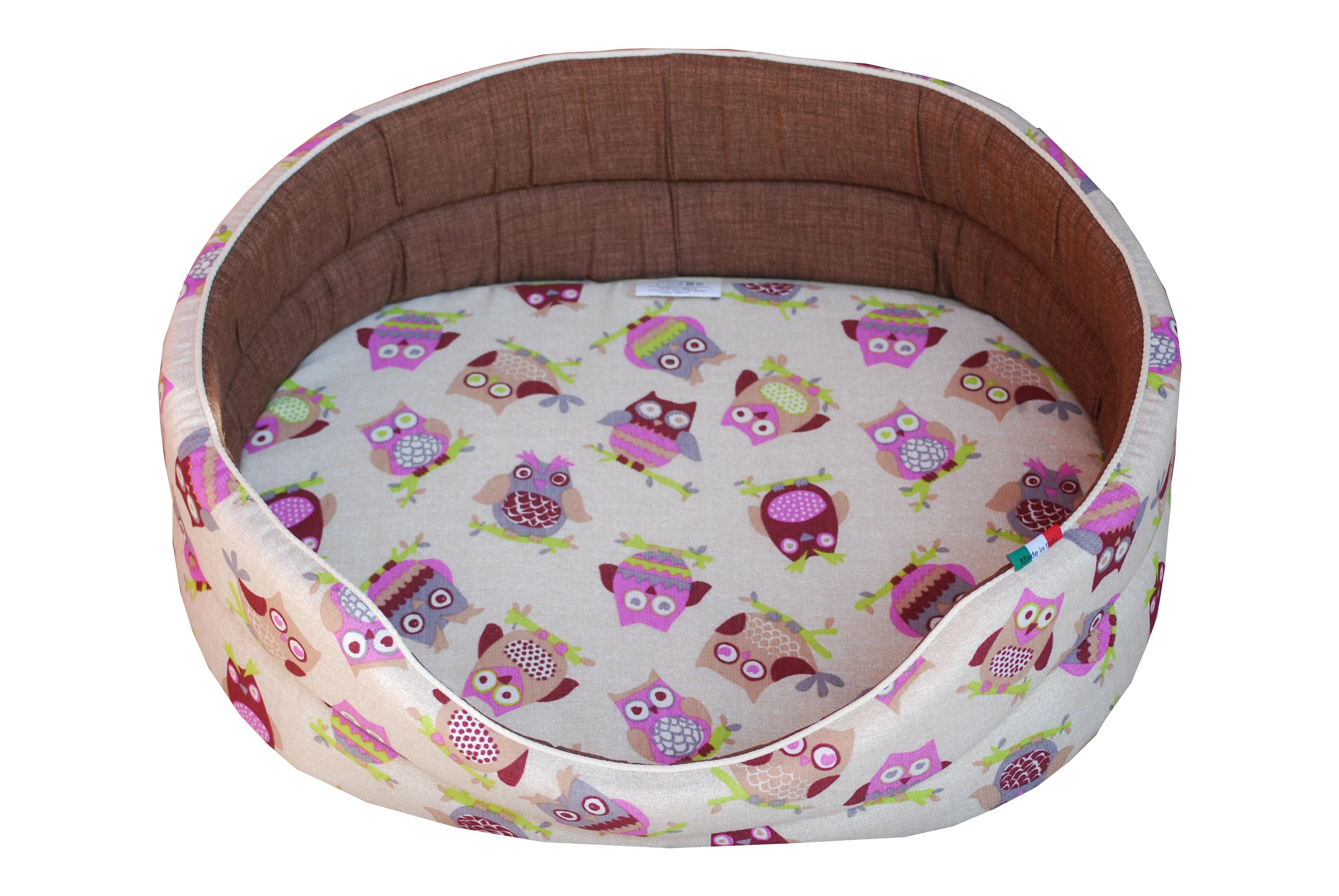 Cucce per cani di tessuto morbide cuccia per cane ovale for Cucce da interno per cani taglia grande