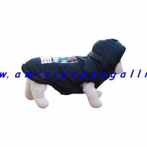 cappottino colonia giacca a vento per cane camon, impermeabile con interno imbottito in finta pelliccia