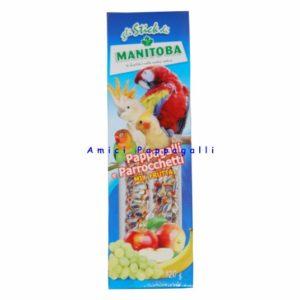 manitoba mix frutta stick per pappagalli, parrocchetti
